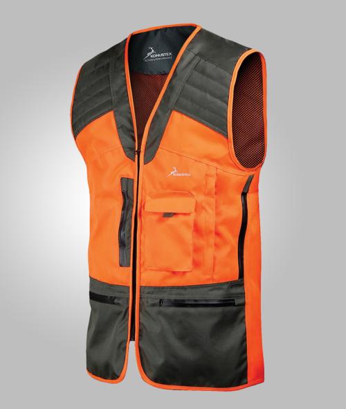 hunting vest gilet da caccia al cinghiale konustex alta visibilità