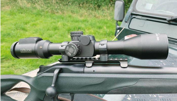 ottica multireticolo da caccia e tiro Konus