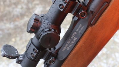 ottica da caccia al cinghiale carabina bolt action sabatti saphire konus