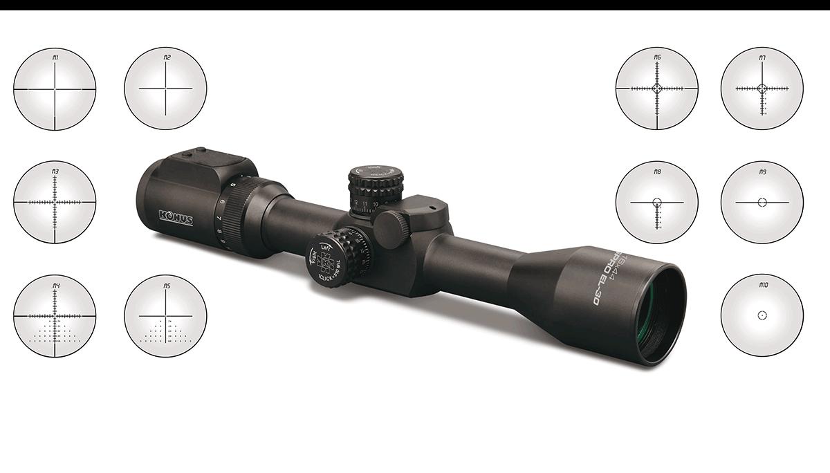 scope ottica da caccia e tiro Konus