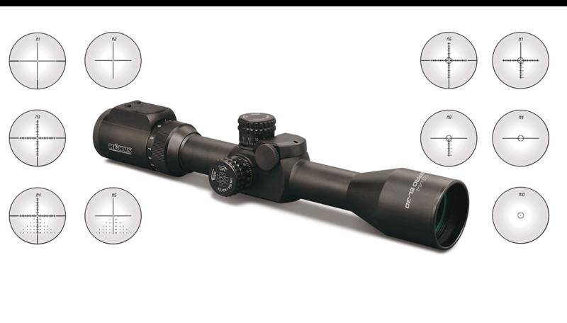 ottica per carabina bolt action da caccia e da tiro
