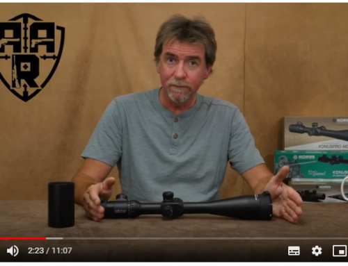 AAR OnAir Andy's Airgun Reviews – Konuspro F30 First Focal plane Scope Review