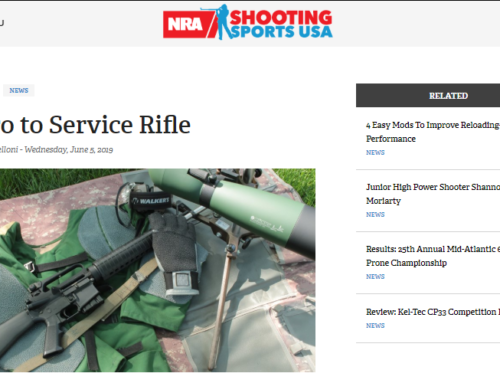 Shooting Sports USA – Intro to Service Rifle