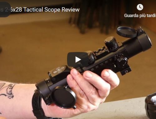 Gun Mart – Konus 2-6×28 Tactical rifle sight Review