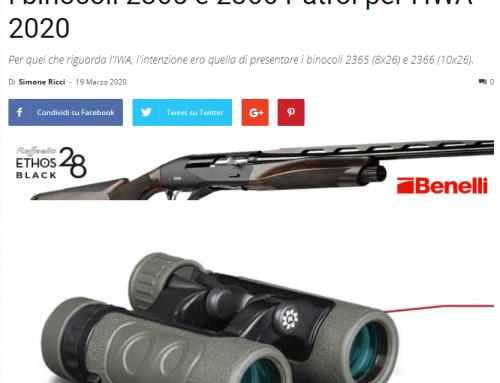 Caccia e Passione – I nuovi binocoli da caccia 2365 e 2366