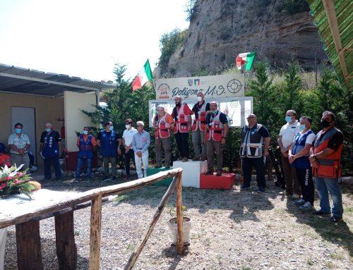 GIUSEPPE DE LUNA CON KONUS MEDAGLIA D'ARGENTO AL CAMPIONATO TIRO DI CAMPAGNA