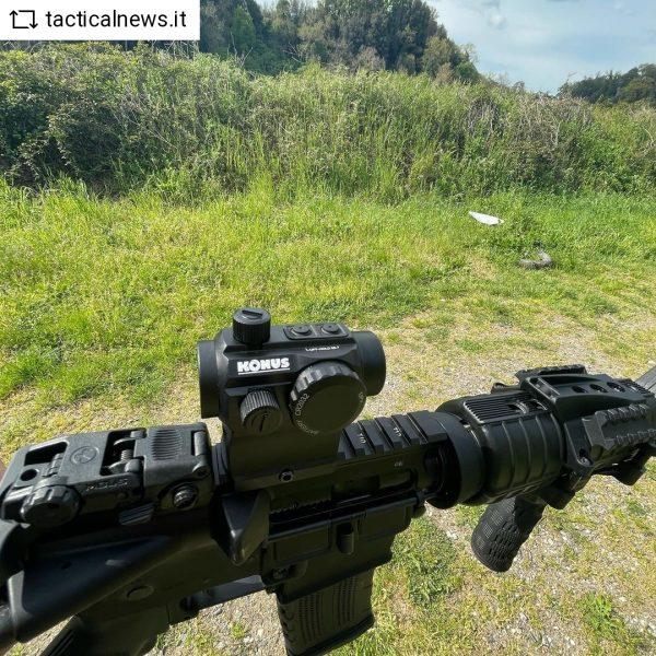 compact rifle scope